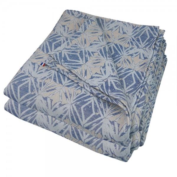 TAGESDECKE PRISMES BLUE 230X250 CM